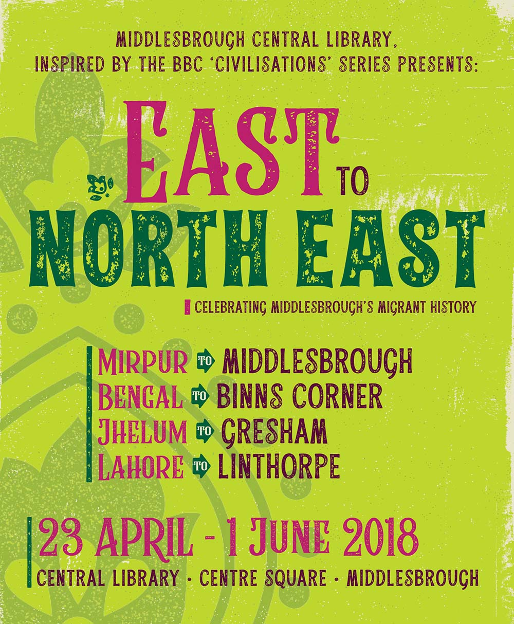 East to North East Poster